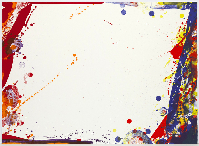 Sam Francis, 'Blue Cut Sail', 1969, Caviar20
