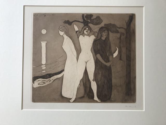 Edvard Munch, 'Das Weib (The Woman II)', 1895, Alice Adam Ltd.