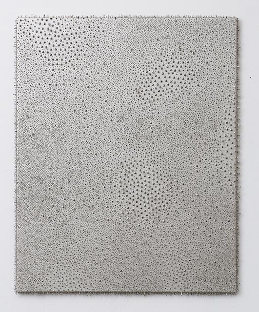 Lars Christensen, 'Silver / Silver #1', 2014, Anne Mosseri-Marlio Galerie