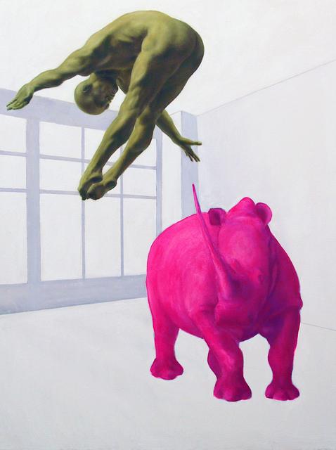 , 'Crash II,' 2017, Zhou B Haus der Kunst