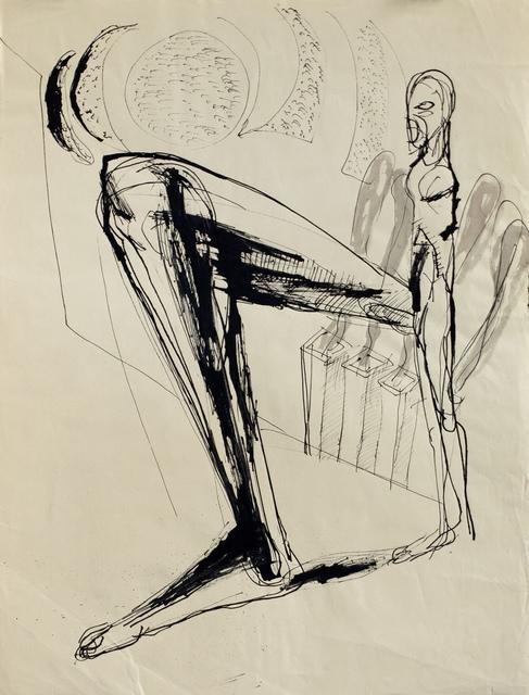 , 'Der große Schritt,' 1988, Galerie Tore Suessbier