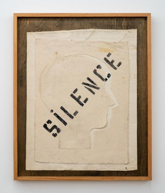 Nicola L, 'Silence', 1992, Nina Johnson