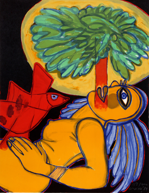 , 'Nude with a Red Bird,' 1981, RoGallery
