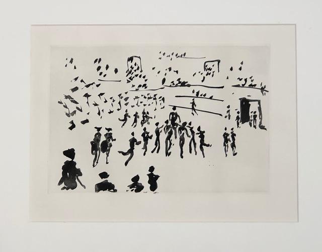 Pablo Picasso, 'El Torero sale a hombros de los Aficionados', 1957, Blanca Soto Arte