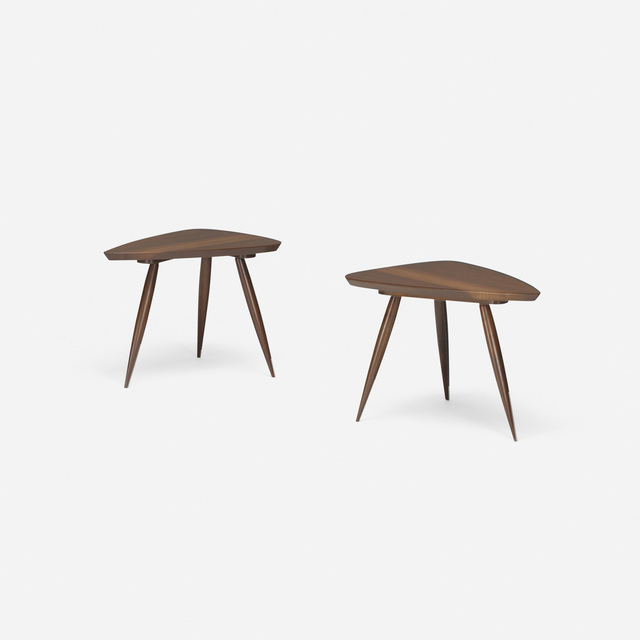 Phillip Lloyd Powell, 'Occasional tables, pair', c. 1958, Wright