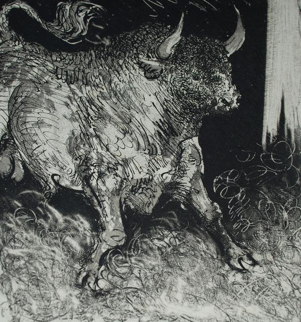 Pablo Picasso, 'Le Toro Espagnol (The Bull) Bloch 331', 1936, John Szoke