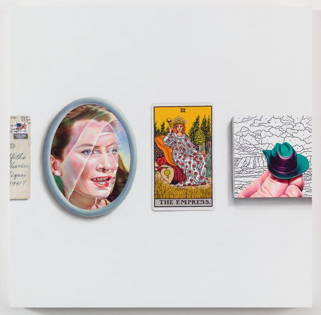 , 'Collusion: Deborah,' 2018, GRIMM