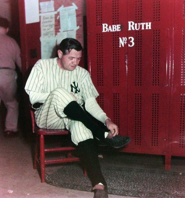 Ralph Morse, 'Babe Ruth in Locker Room', 1948, Contessa Gallery