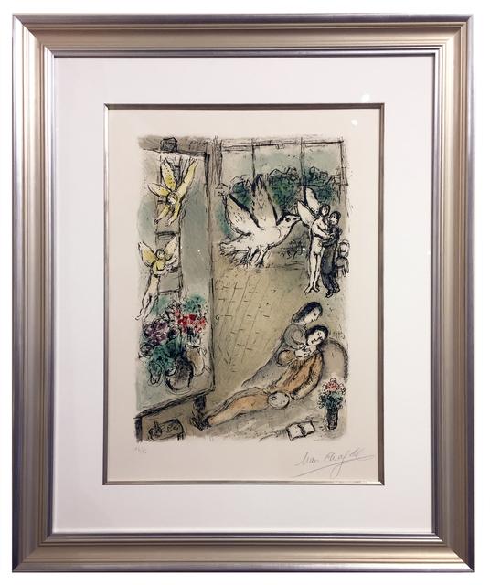 Marc Chagall, 'L'Oiseau dans L'Atelier', 1976, Elliott Gallery