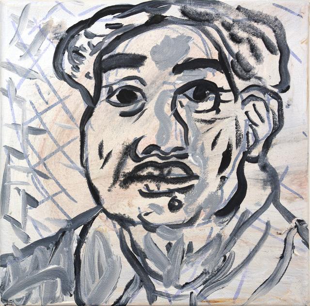 , 'Grayscale Mao,' 2018, Ethan Cohen New York