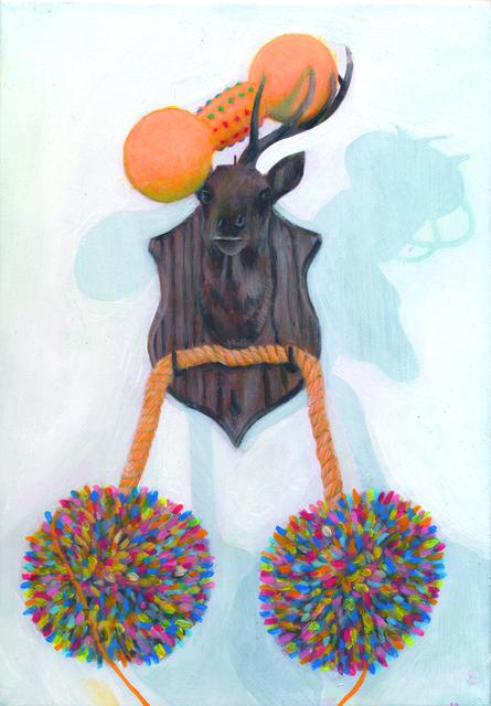 , 'RR, la combina de la pintura (the combine painting),' 2009, Galerie Thomas Bernard