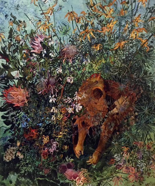 , 'Protea and Horse,' 2016, J. Cacciola Gallery