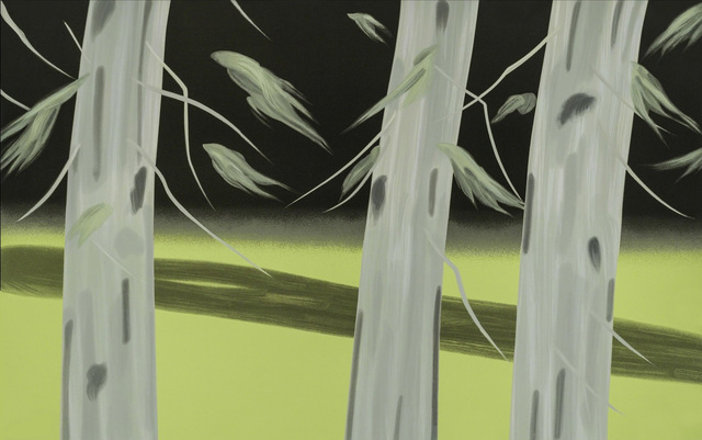 Alex Katz, 'Three Trees', 2018, Print, Screenprint on Saunders Waterford 425gsm paper, Kenneth A. Friedman & Co.