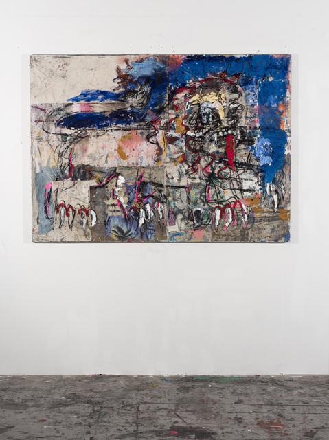 , 'Lion with Tounge (Blue),' 2018, Vigo Gallery