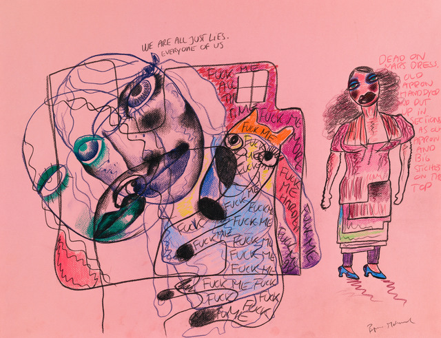 , 'Untitled (Dead on Mars Dress),' 2014, Rod Bianco Gallery