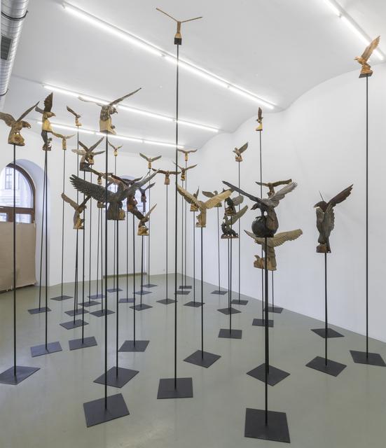 , 'Die klare Sonne bringt's an den Tag,' 2017, Galerie Crone