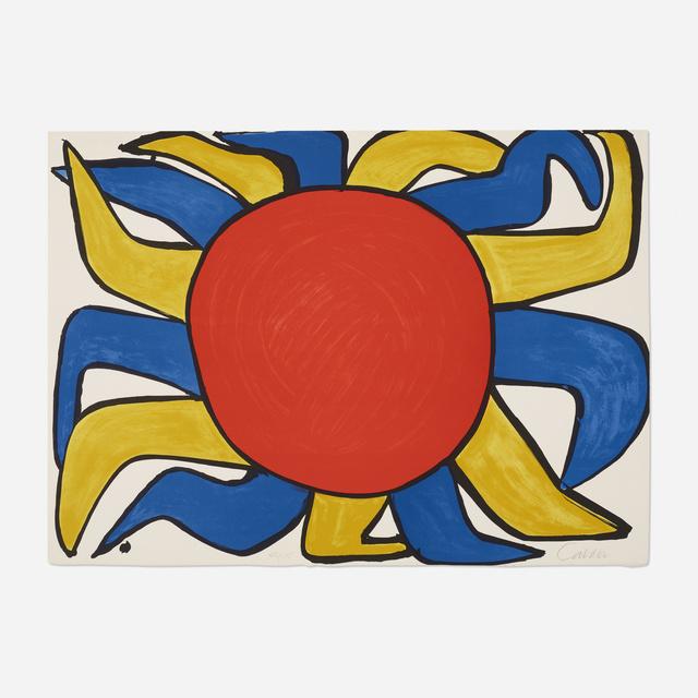 Alexander Calder, 'Untitled (Sun)', 1975, Wright