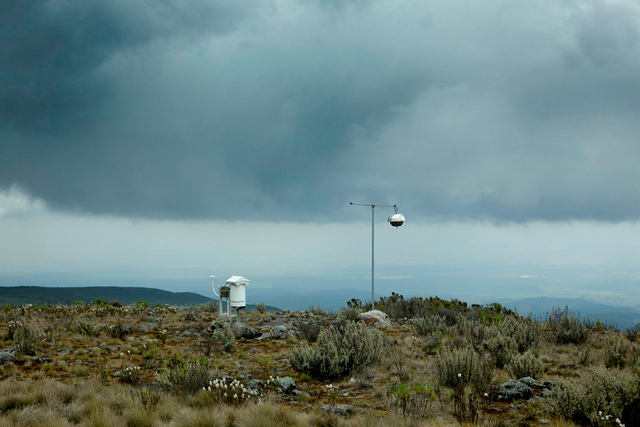 , 'Weather station,' 2017, CAMARA OSCURA GALERIA DE ARTE