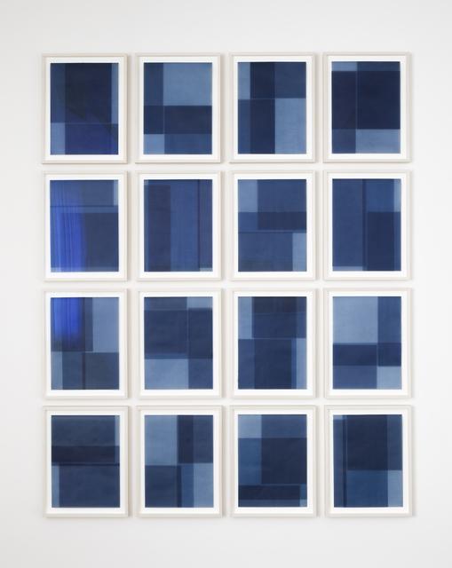 Julia Mangold, 'Untitled - 0201...0216', 2015, Bartha Contemporary
