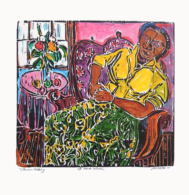 , 'Woman Resting (AP),' 2010, Greenhut Galleries