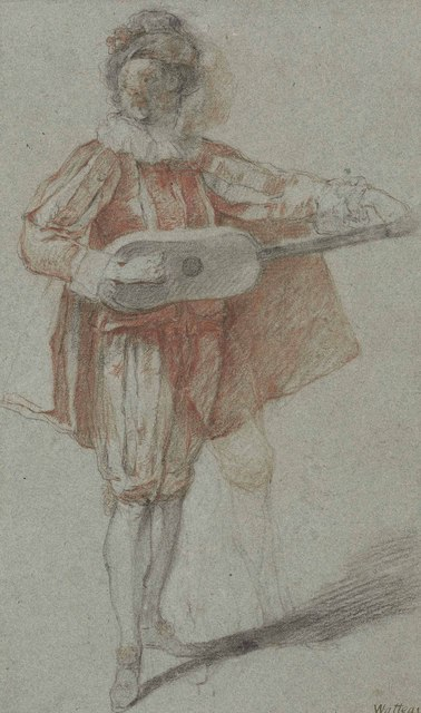 , 'A mandolin player,' , Christie's Old Masters