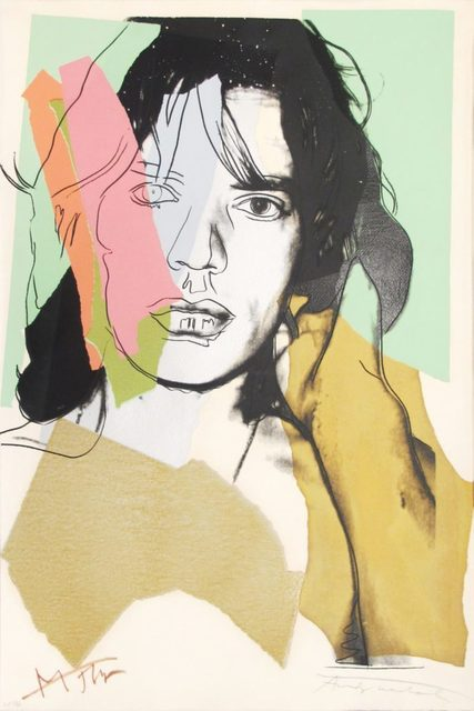 Andy Warhol, 'Mick Jagger (F. & S. II.140)', 1975, Gerald Hartinger Fine Arts