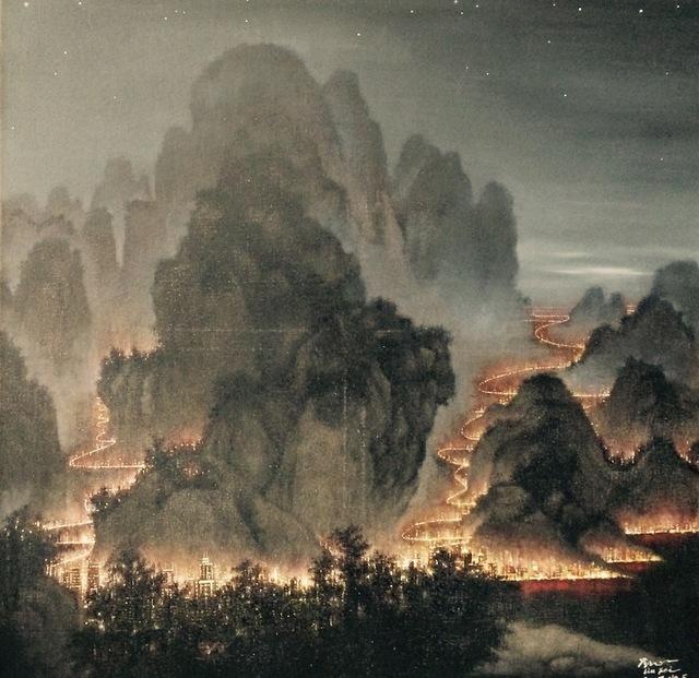 Liu Fei, 'Mountain & Water- Glisten ', 2018-2019, Yang Gallery