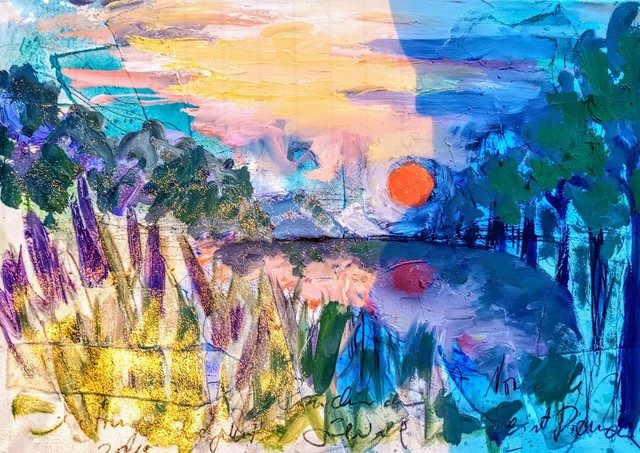 , 'Water paintings summer 2019 - plein air in situ paintings,' 2019, Noravision Gallery