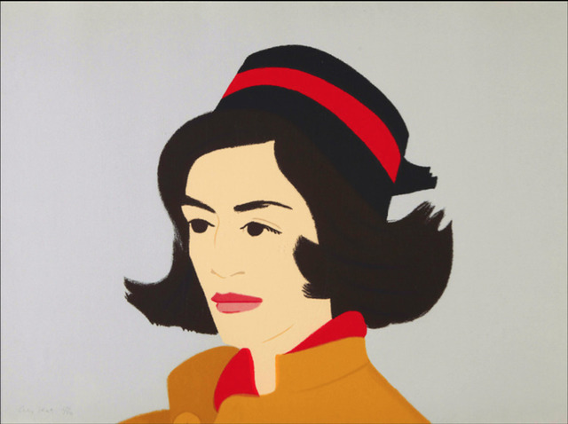 Alex Katz, 'Ada in Hat', 1990, Oliver Cole Gallery