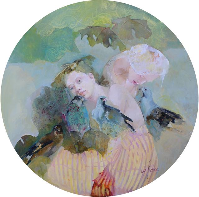 , 'Esprit de l'air,' 2019, Galerie Calderone