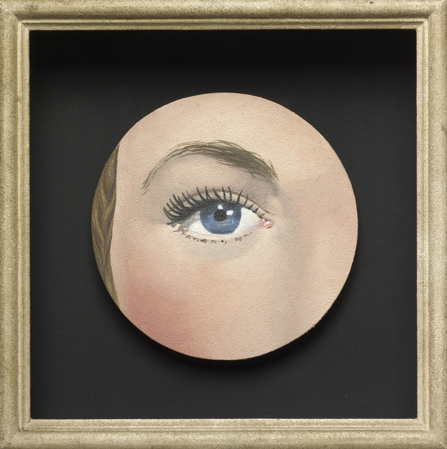 , 'Painted Object: Eye (Objet peint: Œil),' 1932/35, Art Institute of Chicago