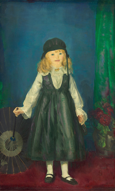 George Wesley Bellows, 'Anne with a Japanese Parasol', 1917, National Gallery of Art, Washington, D.C.