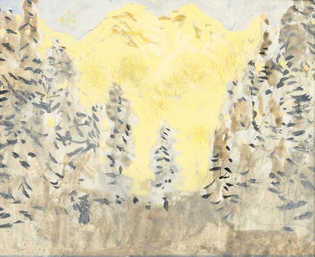 , 'Mountains of Kitzbühel,' ca. 1922, Galerie Kovacek