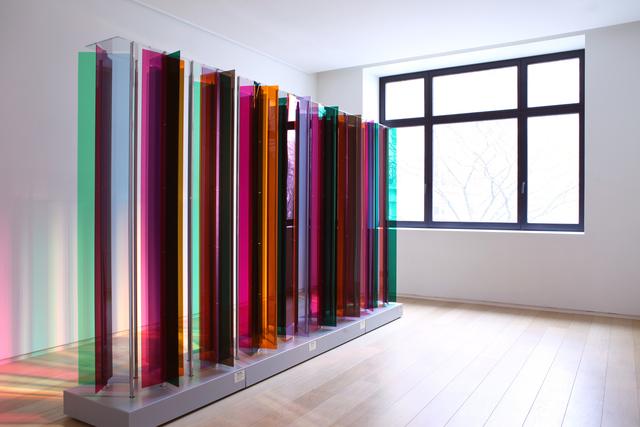 Carlos Cruz-Diez, 'Transchromie Méchanique Grand Palais', 1965-2013, La Patinoire Royale / Galerie Valerie Bach