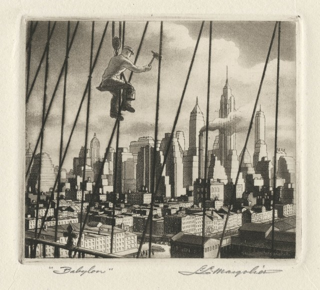 , 'Bridge to Babylon,' 1949, Childs Gallery