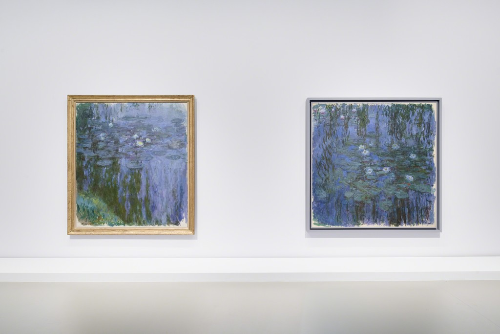 View of Monet at Fondation Louis Vuitton, Paris 2015