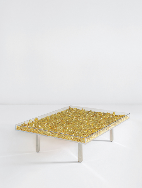 "Yves Klein, '""Table d'or""', designed 1961, Phillips"