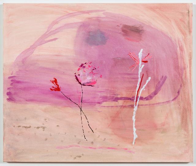 Sally Egbert, 'Pink Flowers', 2015, Painting, Oil on canvas, Goya Contemporary/Goya-Girl Press