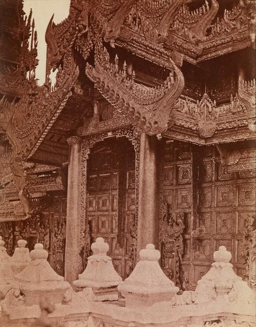, 'Doorway of Pyathat, Amerapoora, Burma,' 1855, Robert Hershkowitz