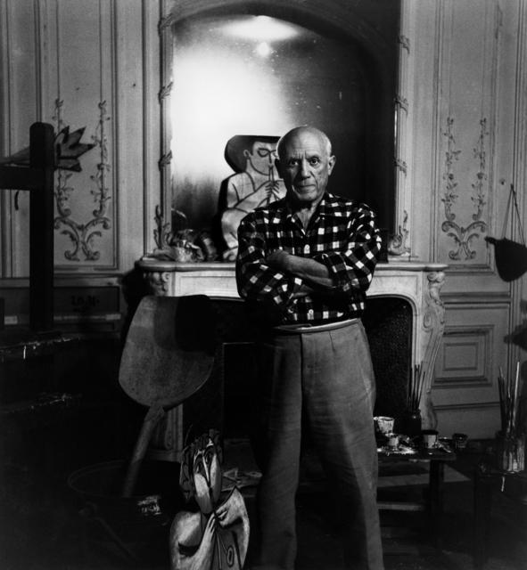 , 'Picasso à « La Californie » ,' 1955, Beck & Eggeling
