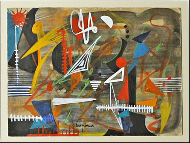 , 'Untitled Painting,' ca. 1940, Alpha 137 Gallery