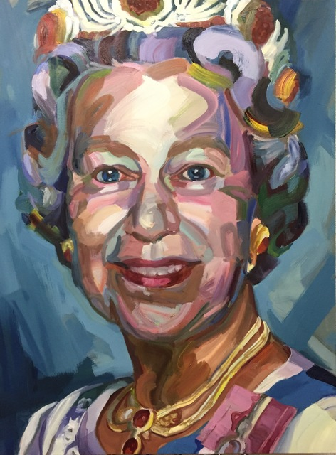 Jo Hay, 'The Queen', 2018, Painting, Oil on canvas, Miller Gallery Charleston