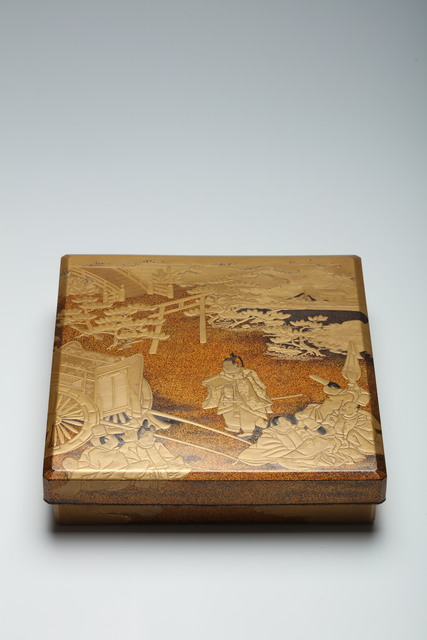 , 'Writing Box with Scenes from the Tale of Genji (T-4296),' 17th Century, Erik Thomsen