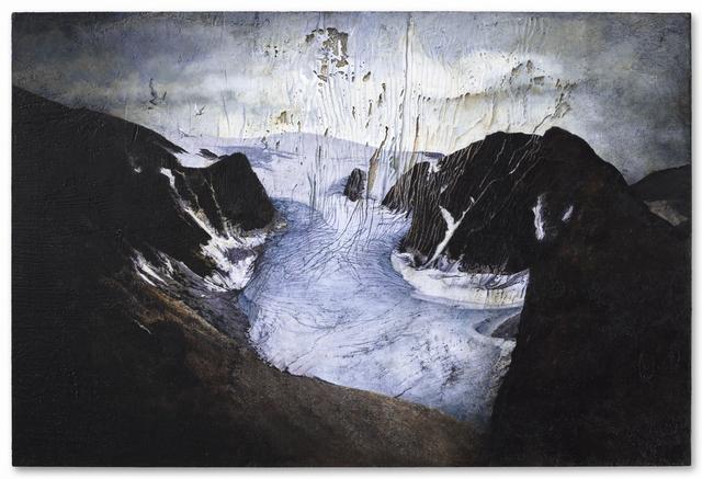 , 'Starved Glacier,' 2017, Miller Yezerski Gallery