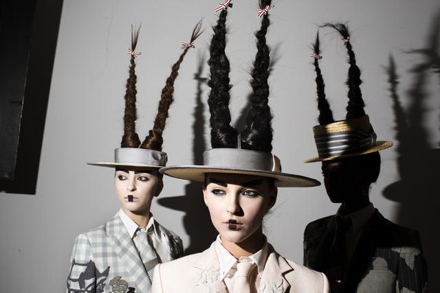 , 'Thom Browne (Hats and Hair),' 2016, Spalding Nix Fine Art