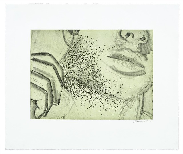 , 'Soft Ground Etching - Green,' 2007, Gemini G.E.L. at Joni Moisant Weyl