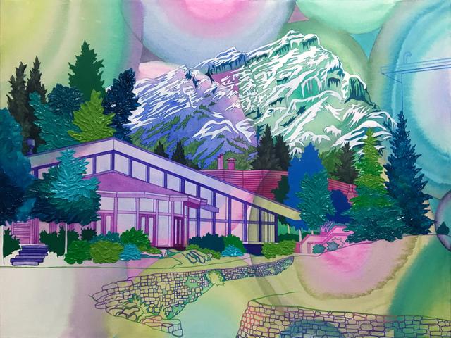 , 'Banff Mountain,' 2018, Linda Hodges Gallery