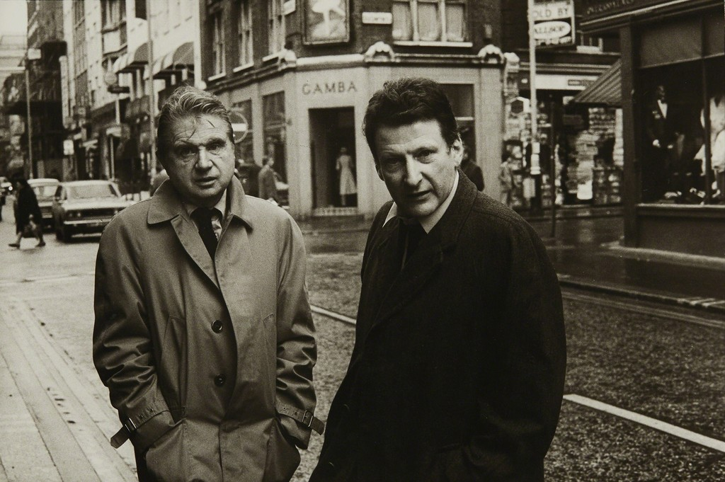 Francis Bacon and Lucian Freud in Dean St. Soho