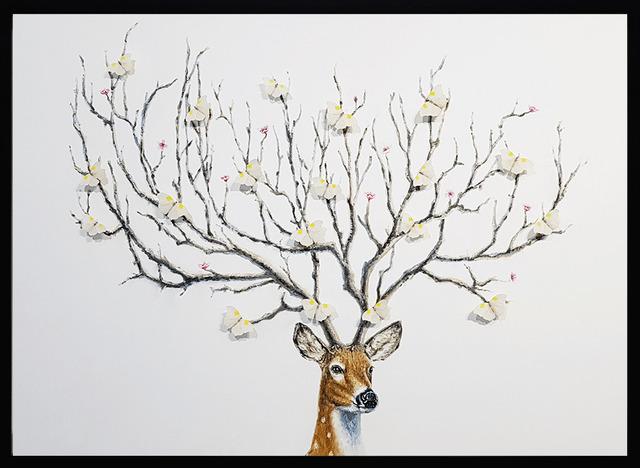 SN, 'Wish Tree (White)', 2019, Eden Fine Art