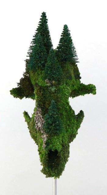 , 'El Renacer. Sobre Muerte vida (cráneo vegetal P),' , Blanca Soto Arte